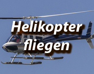 Helikopter fliegen