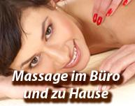 Massage im Büro und zu Hause