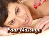 Paar-Massage-Abend